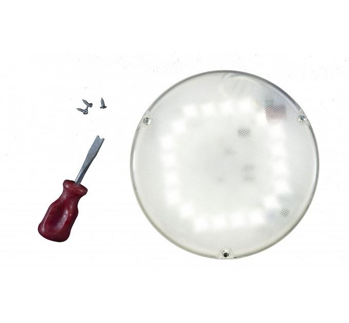 Светильник светодиодный герметичный с оптико-акустическим датчиком SBB 06-10