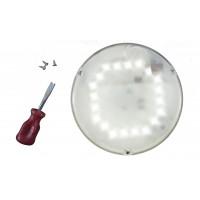 Светильник светодиодный с оптико-акустическим датчиком антивандальный SBB 06-06