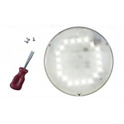 Светильник светодиодный с оптико-акустическим датчиком антивандальный СББ 06-06