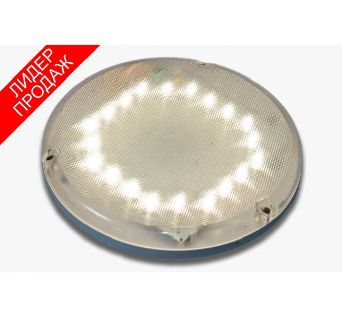 Светильник с оптико-акустическим датчиком светодиодный антивандальный СББ 06-06