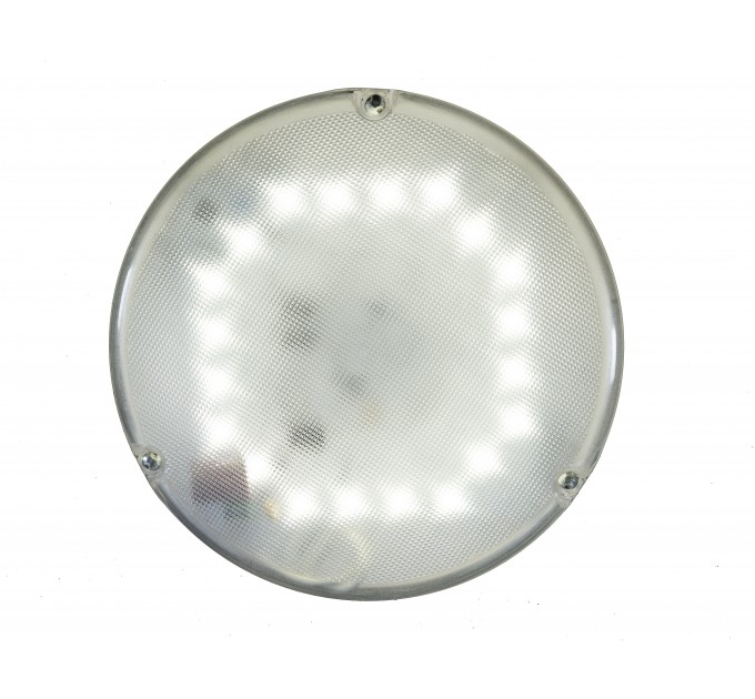 Светильник LED с оптико акустическим датчиком антивандальный СББ 06-14