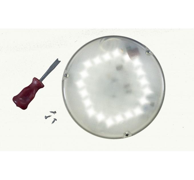 LED светильник c оптико-акустическим датчиком антивандальный СББ 06-18