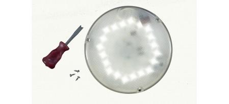Монтаж светодиодного светильника