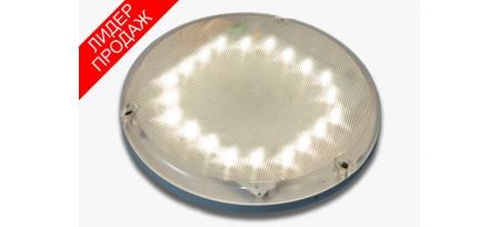 Светодиодный светильник с оптико-акустическим датчиком
